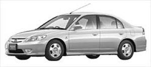 Honda Civic Hybrid  2002 г.