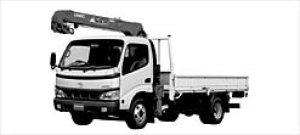 Toyota Dyna TRUCK WITH CRANE 2002 г.