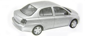 "Toyota Platz 1.0F ""L Package"" 2002 г."