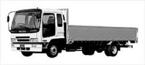 Isuzu Forward ALUMINUM BLOCK GATE 177kW (240PS) 2002 г.