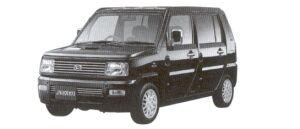 Daihatsu Naked TURBO F 2WD 2002 г.