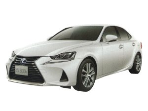 Lexus IS300H version L 2017 г.