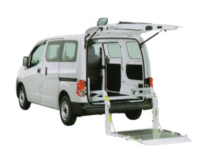 Nissan NV200 Vanette Van with Lifter 2017 г.