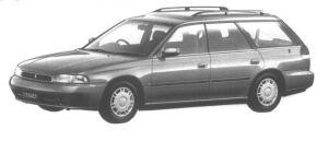 Subaru Legacy 4WD TOURING WAGON BRIGHTON 1994 г.