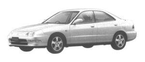 Honda Integra 4 DOORS HARD TOP Si VTEC 1994 г.