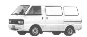 Mazda Bongo VAN WIDE LOW STANDARD ROOF 2200 DX 1994 г.