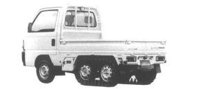 Honda Acty Truck CRAWLER 1994 г.