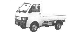 Daihatsu Hijet SUPER DELUXE 4WD 1994 г.