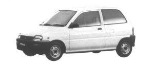 Daihatsu Mira TG 1994 г.