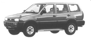 Nissan Mistral TYPE S 1994 г.