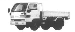 Mazda Titan 2T STANDARD CAB&BODY HIGH FLOOR 3.5L 4WD 1994 г.