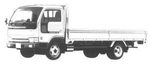 Nissan Diesel Condor 20 WIDE, LONG, FULL SUPER LOW 1994 г.