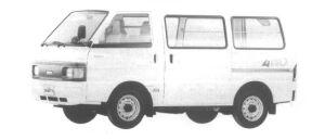 Nissan Vanette VAN 4WD 2 SEATER 5 DOOR DX 1994 г.