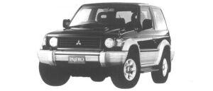 Mitsubishi Pajero METALIST TOP WIDE XR-II 1994 г.