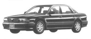 Mitsubishi Sigma 25V-SE 1994 г.