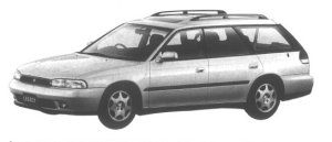 Subaru Legacy 4WD TOURING WAGON 250T 1994 г.