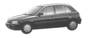 Daihatsu Charade POSE 1500 4WD 5DOOR 1994 г.