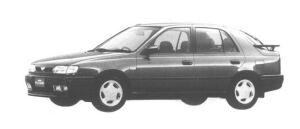 Nissan Pulsar 5 DOORS SEDAN 1600X1R 1994 г.