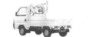 Honda Acty Truck CRANE 1994 г.