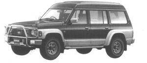 Nissan Safari VAN EXTRA HIGH ROOF GRAN ROAD 1994 г.