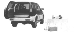 Nissan Mistral TYPE X CAMPING CAR 1994 г.