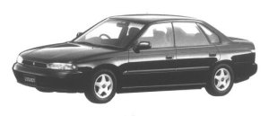 Subaru Legacy 4WD TOURING SPORT TS 1994 г.