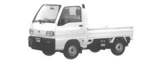 Subaru Sambar Truck STANDARD ROOF STD 1994 г.