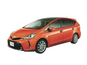 Toyota Prius Alpha G Touring Selection 5-seater 2018 г.