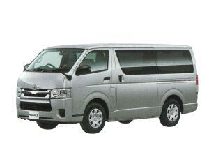 Toyota Regiusace Van Long Van, 3/6-Seater, 5 Doors, DX GL Package (2WD - 2000gasoline) 2018 г.