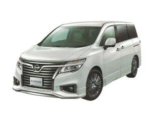 Nissan Elgrand 250 Highway STAR Ppremium Urban CHROME (2WD 7 Passenger) 2018 г.