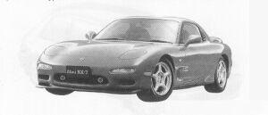 Mazda Efini RX-7 TYPE-R 1991 г.