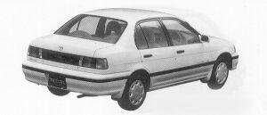 Toyota Tercel VX 4WD 1500EFI 1991 г.