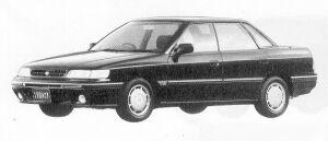 Subaru Legacy 4WD 4DOOR SEDAN 1.8L TI TYPE-S 1991 г.