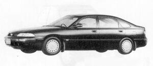Mazda Ford Telstar TX5 18Vi 1991 г.