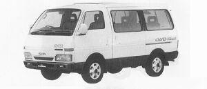 Isuzu Fargo WAGON 4WD LS 1991 г.