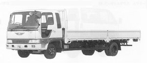 Hino Ranger CRUISING FD WIDE CAB LONG BODY 4T 1991 г.