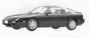 Nissan 180SX TYPE II 1991 г.