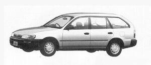 Toyota Corolla VAN 2000 DIESEL GL EXTRA 1991 г.