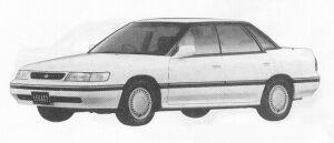 Subaru Legacy 4DOOR SEDAN 2.0L VZ 1991 г.