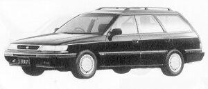 Subaru Legacy 4WD TOURING WAGON 2.0L VZ 1991 г.