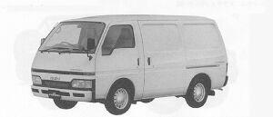 Isuzu Fargo PANEL VAN LD 2WD 1991 г.