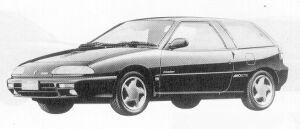 Isuzu Gemini HATCH BACK 1600 DOHC  TURBO IRMSCHER R 1991 г.
