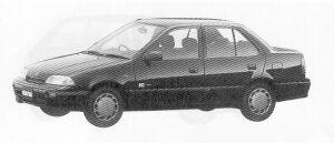Suzuki Cultus ESTEEM 1500 1991 г.