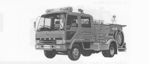 Mitsubishi Fighter FIRE ENGINE 1991 г.