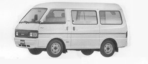 Mazda Bongo VAN LOW FLOOR, HIGH ROOF 1500GASOLINE LG 1991 г.