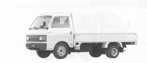 MAZDA FORD TRUCK 1991 г.