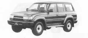 Toyota Land Cruiser 80 WAGON LIMITED 1991 г.