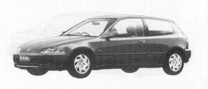 Honda Civic 3DOOR VTI 1991 г.