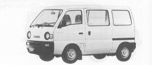 Suzuki Carry VAN GA 1991 г.