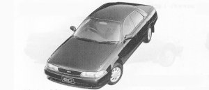 Toyota Carina ED G LIMITED DUAL MODE 4WS 1991 г.